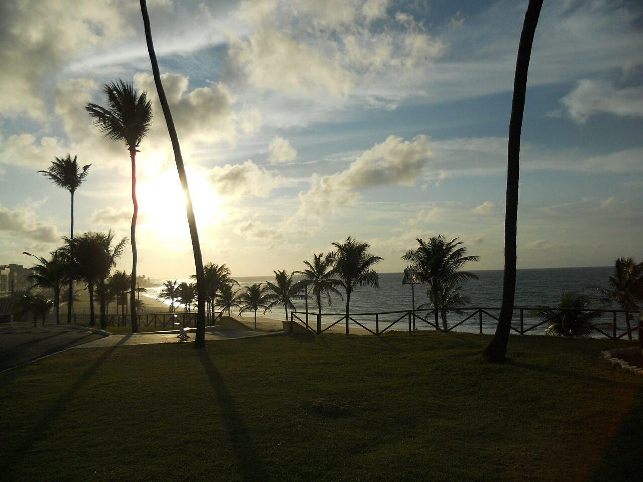 Pôr do Sol em Amaralina, Salvador - Bahia