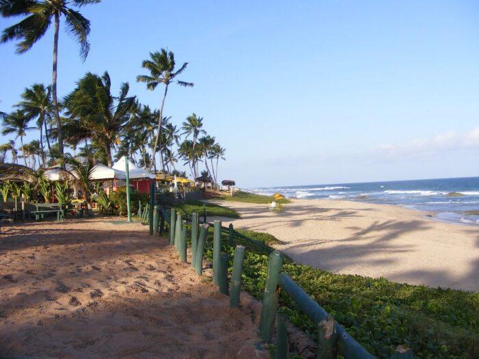 Praia de Stella Maris - Salvador, Bahia