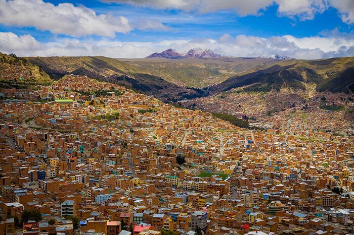 La Paz Vista de Cima