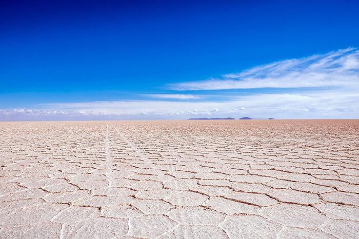 O maior deserto de sal do mundo, Salar de Uyuni