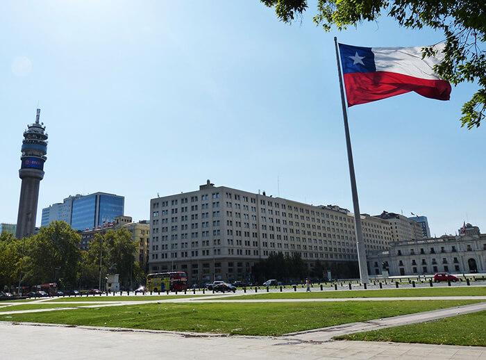 Palácio do Governo - Santiago