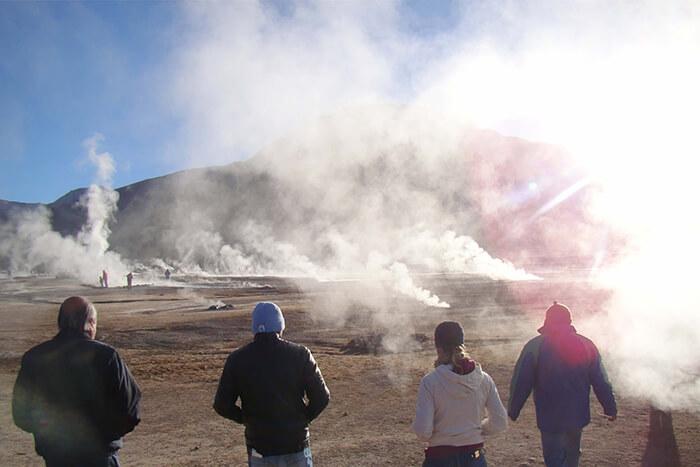Deserto do Atacama: Geysers del Tatio