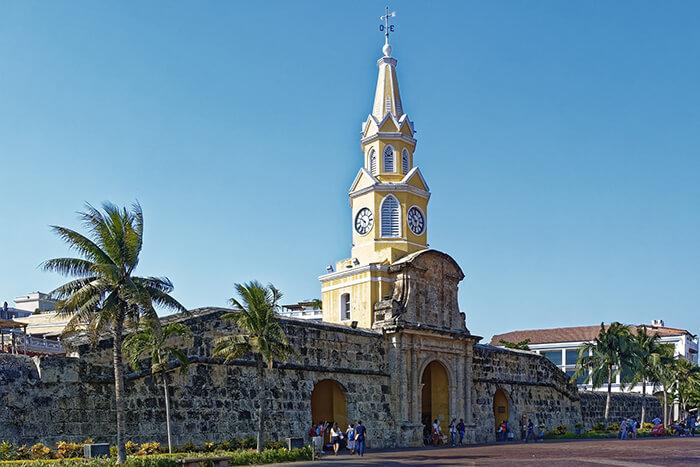 Torre do Relógio - Cartagena das Índias