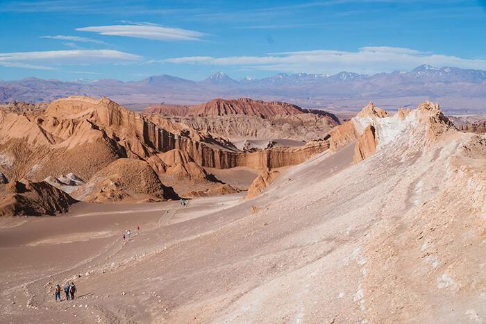 Deserto do Atacama: Valle de La Luna e Valle de La Muerte