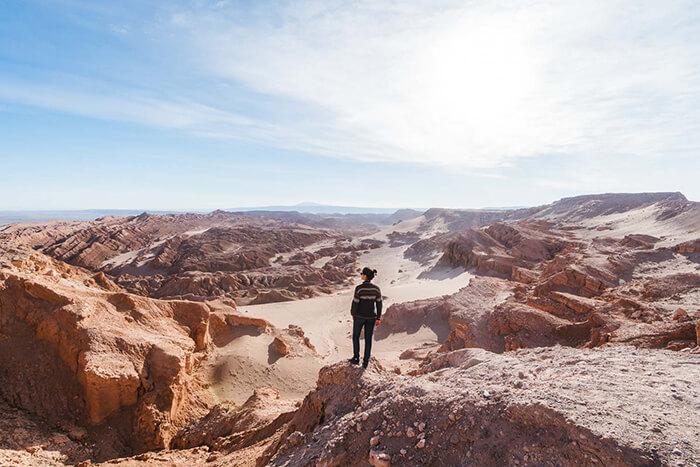 Deserto do Atacama: Valle de La Luna e Valle de La Muerte - Paisagem